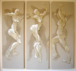 dancing to the end of love (triptych)